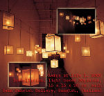 Lamps of life 1, 2000 © Jakraphun Thanateeranon