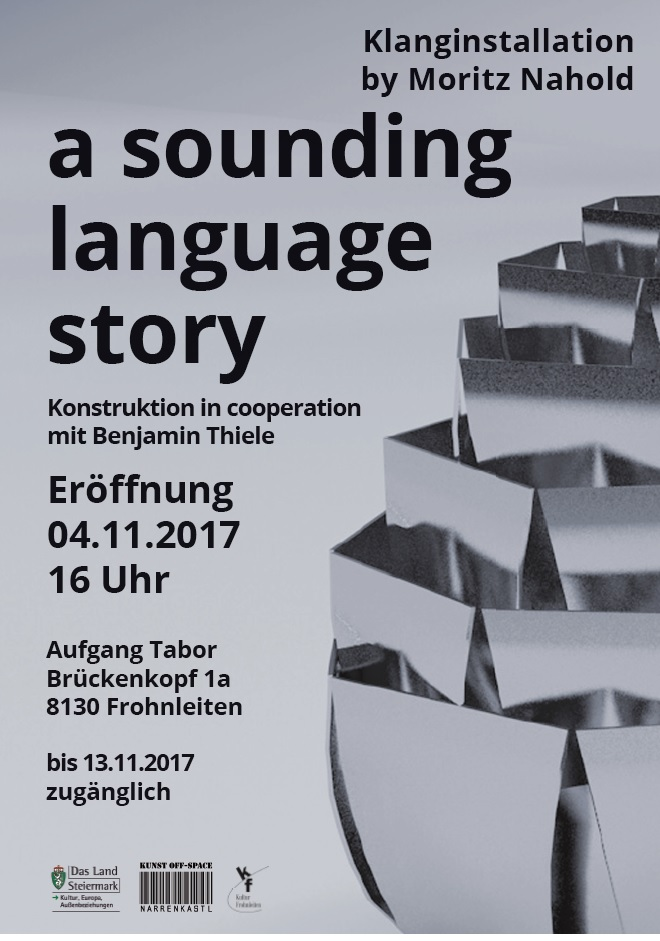 a sounding language story © Moritz Nahold